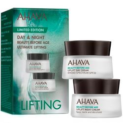 Набор лифтинг-кремов для лица Ahava BBA Limited Edition (day/cream/15ml + night/cream/15ml) фото