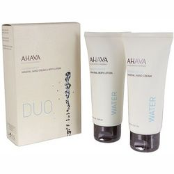 Набор Ahava Kit Duo Mineral Hand & Body Cream (cream/100ml + lotion/100ml) фото