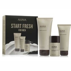 Фото Набор для мужчин Ahava Kit For Men (gel/200ml + cream/100ml + af/shmp/50ml