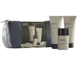 Фото Набор мужской для путешествий Ahava Travel Kit for Men Time To Energize (clea/gel/100ml + sh/cr/100ml + af/sh/50ml + bag)