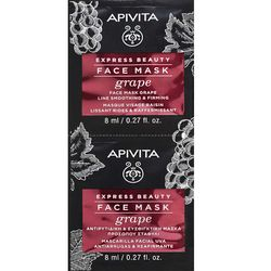 Фото Маска с виноградом Apivita Express Beauty Anti-Wrinkle and Firming Mask With Grape