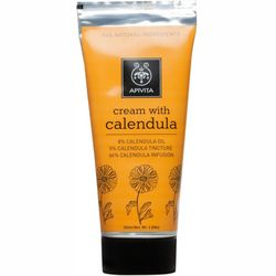 Фото Травяной крем с календулой Apivita Herbal Cream With Calendula