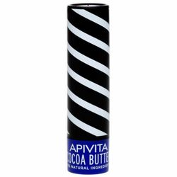 Фото Бальзам для губ с пчелиным воском и какао Apivita Lip Care With Cocoa Butter SPF20