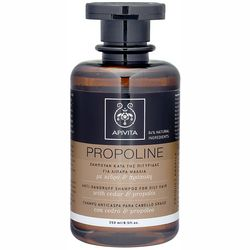 Шампунь против перхоти для жирных волос Apivita Propoline Anti-Dandruff Shampoo For Oily Hair With Cedar And Propolis фото