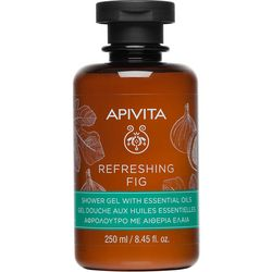 Гель для душа ОСВЕЖАЮЩИЙ ИНЖИР с эфирными маслами Apivita Refreshing Fig Shower Gel with Essential Oils фото