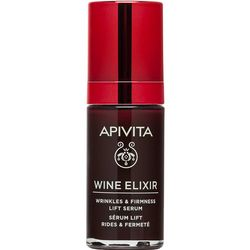 Фото Сыворотка-лифтинг против морщин с полифенолами вина Санторини Apivita Wine Elixir Wrinkle And Firmness Lift Serum