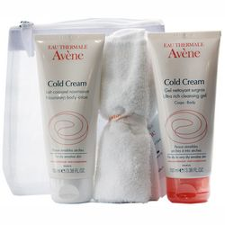 Фото Набор Колд крем Avene Peaux Seches Cold Cream (cr/100 ml + em/100 ml)