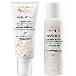 Набор КсераКальм Avene  XeraCalm Kit (cr/200ml + oil/100ml) фото