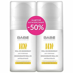 Набор &bq;-50% на второй дезодорант длительного действия&bq; Babe Laboratorios (deo/2x50ml) фото