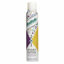 Сухой шампунь Batiste 2 In 1 Invisible Dry Shampoo Vanilla & Passion Flower фото
