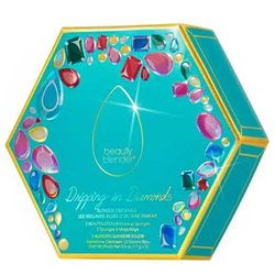 Подарочный набор Beautyblender The Original Dripping in Diamonds Set (sponges/2pcs + soap/2pcs) фото