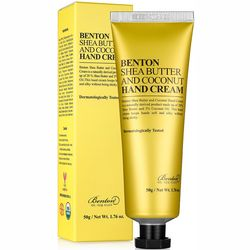 Крем для рук с кокосом и маслом ши Benton Shea Butter And Coconut Hand Cream фото