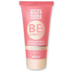 Фото BB крем для лица Photoshop-Эффект Bielita Belita Young BB Cream SPF 15