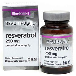 Ресвератрол 250 мг Bluebonnet Nutrition Beautiful Ally Resveratrol 250 Мg фото
