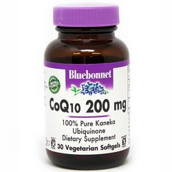 Коэнзим Q10 200 мг Bluebonnet Nutrition CoQ10 200 mg фото