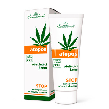Фото Крем от атопии и псориаза Cannaderm Atopos Cream