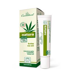 Фото Восстанавливающий крем для кожи вокруг глаз Cannaderm Natura Eye Cream