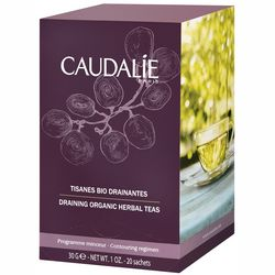 Дренирующий био-чай Caudalie Draining Organic Herbal Teas фото