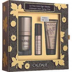 Набор Caudalie Premier Cru Ultimate Anti-Aging Trio Set (eye/cr/15 ml+cr/15 ml+ser/10 ml) фото