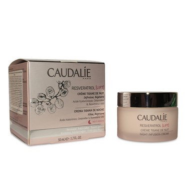 Ночной насыщенный крем Caudalie Resveratrol Lift Night Infusion Cream фото