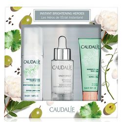 Набор Vinoperfect Serum Set Caudalie Vinoperfect Serum Set (ser/30ml + foam/50ml + mask/15ml) фото