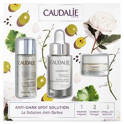 Набор для лица Caudalie Vinoperfect Set (essence/50ml + serum/30ml + cream/15ml) фото