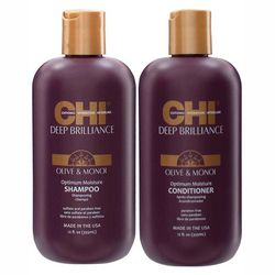 Фото Набор для волос CHI Deep Brilliance Hydration Duo (shamp/350ml + cond/350ml)