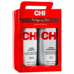 Укрепляющий набор Infra CHI Fortifying Duo (mask/950ml + shamp/950ml) фото