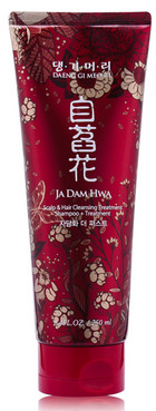 Шампунь-Кондиционер Daeng Gi Meo Ri Ja Dam Hwa Scalp & Hair Cleansing Shampoo + Treatment фото