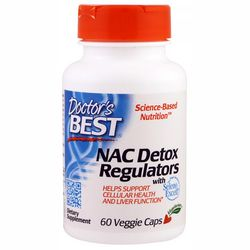 Фото Антиоксидант Doctor&sq;s Best NAC Detox Regulators with Seleno Excell