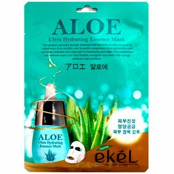 Фото Тканевая маска с экстрактом Алоэ Ekel Aloe Ultra Hydrating Essence Mask