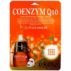 Фото Тканевая маска с коэнзимом Q10 Ekel Coenzym Q10 Ultra Hydrating Essence Mask
