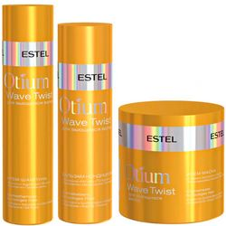 Фото Комплекс для вьющихся волос Estel Professional Otium Wave Twist  (shamp/250ml + balsam/200ml + mask/300ml)