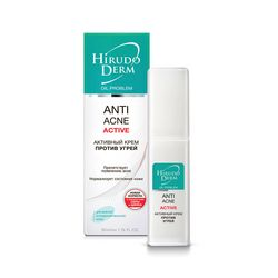 Фото Активный крем против угрей Hirudo Derm Anti Acne Active