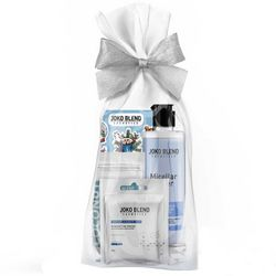 Фото Подарочный набор Joko Blend Blue Magic Set (mask/20g + micell/water/200ml + scrub/50g + sticker)