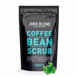 Фото Кофейный скраб &bq;Мята&bq; (не для продажи) Joko Blend Coffee Bean Scrub Mint