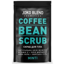 Кофейный скраб &bq;Мята&bq; Joko Blend Coffee Bean Scrub Mint фото