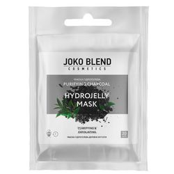 Маска гидрогелевая &bq;Древесный уголь&bq; Joko Blend Purifying Charcoal Hydrojelly Mask фото