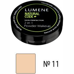 Крем-пудра для лица Lumene Natural Code Skin Perfector 2in1 Powder фото