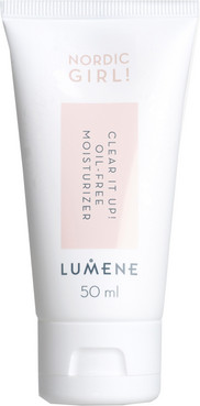 Крем сужающий поры Lumene Nordic Girl! Clear It Up! Oil Free Moisturizer фото