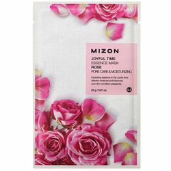 Фото Тканевая маска для лица с экстрактом розы Mizon Joyful Time Essence Mask