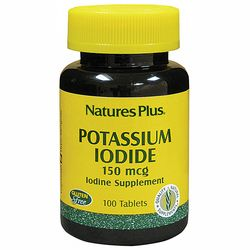 Фото Йодистый калий 150 мкг Natures Plus Potassium Iodide