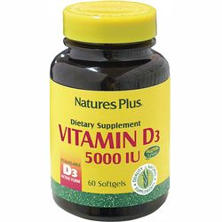 Фото Витамин D3 5000IU Natures Plus Vitamin D3