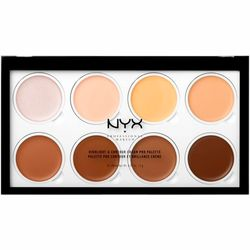 Фото Кремовая палетка для контурирования лица NYX Professional Makeup Highlight & Contour Cream Pro Palette