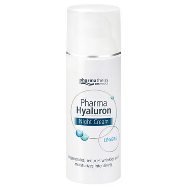 Крем ночной уход Pharma Hyaluron Nigth Cream Legere фото