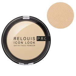 Компактная пудра Relouis Pro Icon Look Satin Face Powder фото