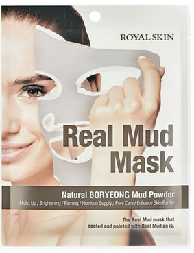 Фото Маска для лица с натуральной глиной Royal Skin Real Mud Mask