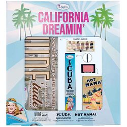 Фото Набор для макияжа TheBalm California Dreamin' Box Set (mascara/9.8ml + blush/7g + palette/11g)