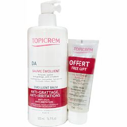 Фото Набор Topicrem DA Emollient Balm + Ultra Rich Cleansing Gel 75ml
