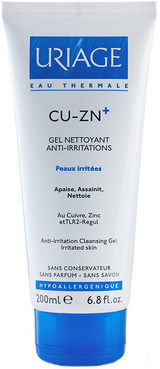Фото Очищающий гель Uriage CU-ZN Plus Anti-Irritation Cleansing Gel
